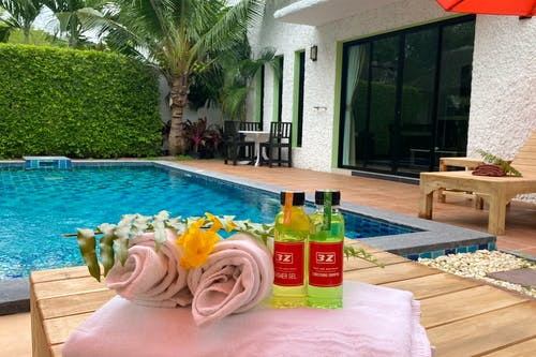Villa et hôtel avec piscine 3z - 0
